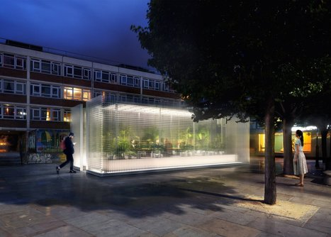 """Asif Khan to install """"forests"""" across east London for MINI Living 