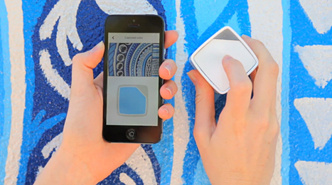 #swatchmate cube: a portable color detecting sampler by @SwatchMate | #Design | Scoop.it