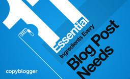 Infographie : 11 ingrédients pour améliorer son blog en 2014   Digital Martketing 101   Scoop.it