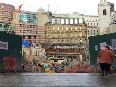 Temple Of Mithras Stays Boxed As City's Big Dig Continues ... | News of historic and cultural heritage | Scoop.it