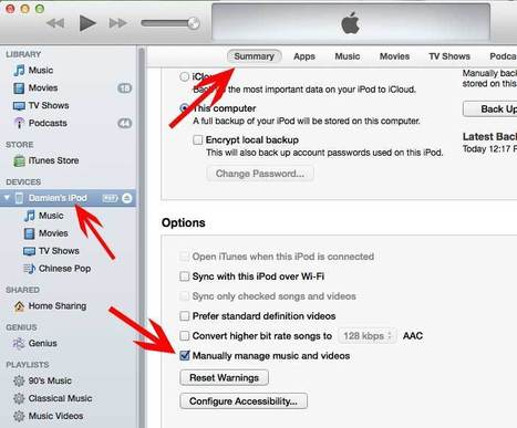 Transfer Music to iPhone Without Adding It to iTunes Library | Time to Learn | Scoop.it