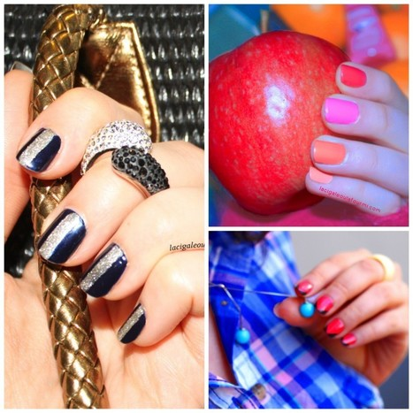 3 idées nail art simples et rapides à réaliser/Tuto   La Cigale ou la ...   Educatel - Découvrez les formations à distance dans le domaine de la beauté   Scoop.it