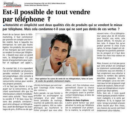 Est-il possible de tout vendre par téléphone ? | Marketing | Scoop.it