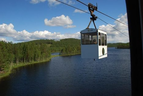 El teleférico más largo del mundo | transports par cable - tram aérien | Scoop.it