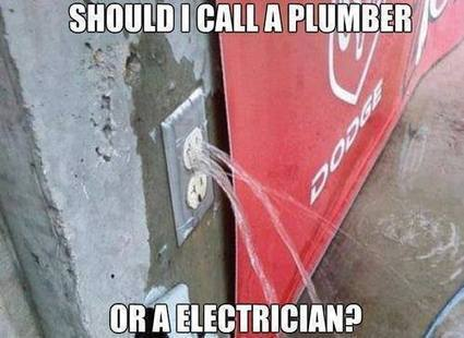 Teasing Times: This happen when Electrician get Plumber training Teasing Times: We are here to make you laugh | Teasing Times | Scoop.it