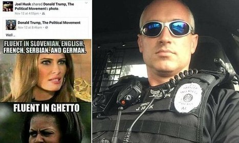 Alabama cop fired over racist Facebook post about Michelle Obama | A WORLD OF CONPIRACY, LIES, GREED, DECEIT and WAR | Scoop.it
