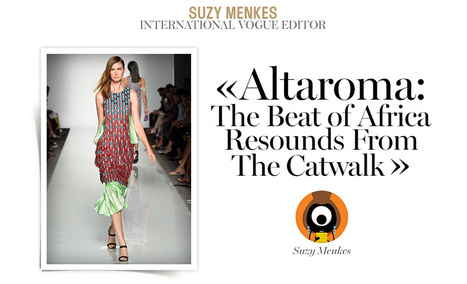 Altaroma: The Beat of Africa Resounds From The Catwalk | Made in Africa | Scoop.it