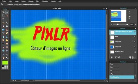 Pixlr : excellent éditeur d'images en ligne | Ressources pour les TICE en primaire | Scoop.it