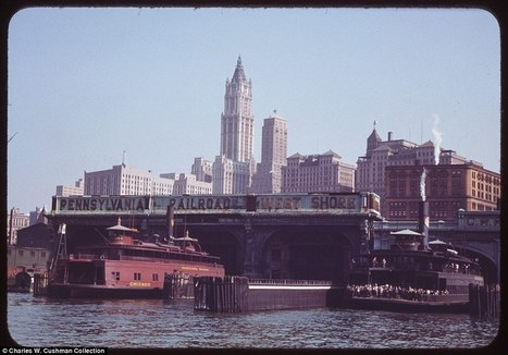 New York City photos by Charles W. Cushman reveal 1940s life in the Big Apple | Art, photography, design, tech, culture & fashion | Scoop.it