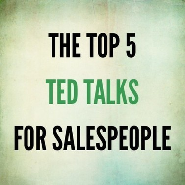 TED Talks for Salespeople: The 5 Not to Be Missed | Sales Engine | social selling | Scoop.it