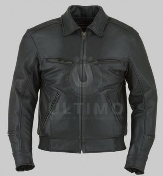 New Black Bomber Jacket   You like leather jackets since nobody ignored it   Scoop.it