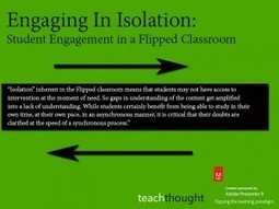 Student Engagement in a Flipped Classroom   Flip   Scoop.it