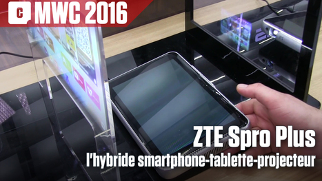 ZTE Spro Plus : l'hybride smartphone-tablette-projecteur | marketing stratégique du web mobile | Scoop.it