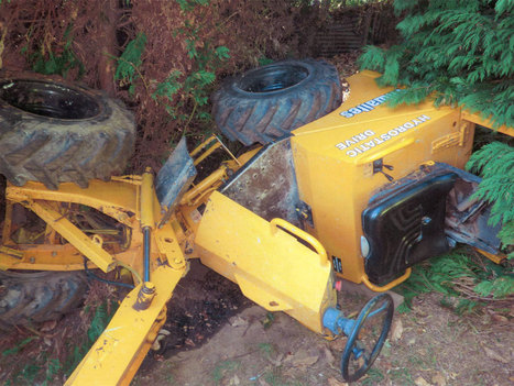Landscape gardener crushed by 'unsafe' skip loader | Health and Safety News | Unmanned Ground Vehicles | Scoop.it