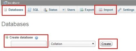 How to import a database using PHPMyAdmin   CodingCyber   Scoop.it