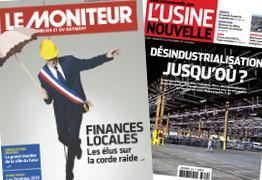 «Le Moniteur» se marie avec «L'Usine nouvelle» | DocPresseESJ | Scoop.it