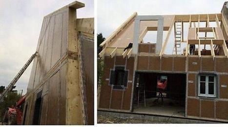 Bâtiment. La maison en carton, une innovation technologique à l'Ouest | habitat participatif | Scoop.it