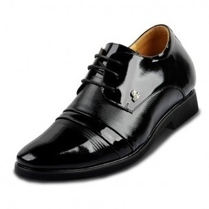 Slip on black/brown mens leather formal business shoes in height increasing lift 7cm/2.75inchs on Sale for cheap wholesale at Topoutshoes.com   Mens Slip-on Shoes   Scoop.it