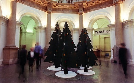 En images : les sapins de Noël de la Tate Britain | Arts et culture à l'ère 2.0 | Scoop.it