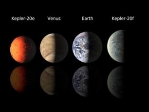 Découverte de deux planètes aux dimensions de la Terre | Ciel et Espace | Astronomy Domain | Scoop.it