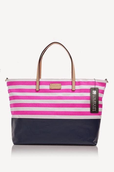 Review Tas Branded Wanita Terbaru: Tas Kate Spade Sanderson Cameron Avenue-pink | Tas Wanita Cantik | Scoop.it