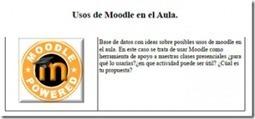 101 propuestas de uso de Moodle en elaula | Capacitación | Scoop.it