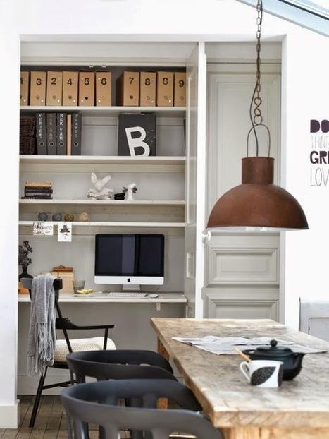 Visite déco : Un petit appartement scandinave très pratique… | décoration & déco | Scoop.it