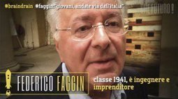 "#outsiders | Federico Faggin: ""Giovani, andate via dall'Italia"" [VIDEO] 