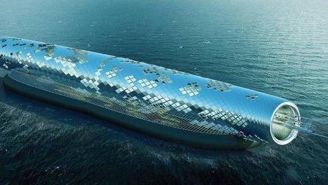 Chaque année, ce tube géant transformera  4,5 milliards de litres d'eau de mer... en eau potable ! | Responsabilité sociale : un devoir | Scoop.it