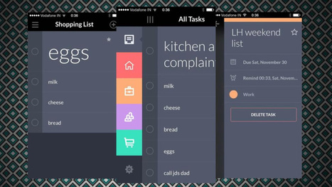 Taasky Creates Quick, Beautiful, Simple To-Do Lists | iPhones and iThings | Scoop.it