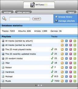 MyTunesRSS : accéder à sa bibliothèque iTunes depuis son lecteur de fils RSS | RSS Circus : veille stratégique, intelligence économique, curation, publication, Web 2.0 | Scoop.it