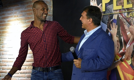 Joan Laporta launches Barcelona campaign with Eric Abidal as assistant - The Guardian | AC Affairs | Scoop.it