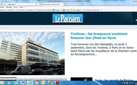 Le Parisien : Numéro 1 sur le mobile en juillet 2013* - Le Parisien | Business Mobile | Scoop.it
