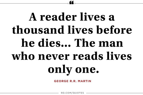 39 Perfectly Cozy Reading Quotes | Reader's Digest | ♨ Family & Food ♨ | Scoop.it