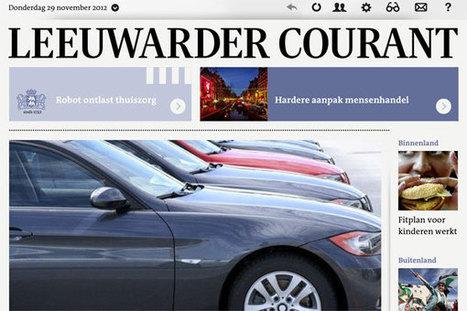 Apps regionale kranten komen moeilijk los van papieren krant (Persinnovatie) | Online journalistiek | Scoop.it
