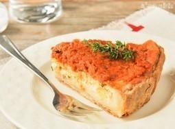 Tarta de ricotta con tomates en aceite | L'Exquisit | À Catanada na Cozinha Magazine | Scoop.it