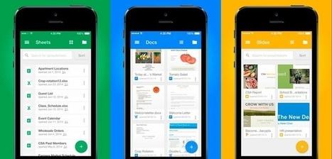 Llega Google Slides, una App de Presentaciones para iPhone y iPad | Documentos de Google | Scoop.it