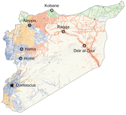 A bird's-eye view of war-torn Syria | Arts and Poetry | Scoop.it