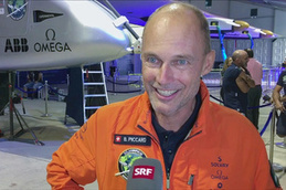 Solar Impulse adventurer Bertrand Piccard: 'We did it!' - SWI swissinfo.ch | Lauri's Environment Scope | Scoop.it