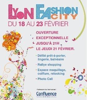 Lyon Fashion City à Confluence à partir du 18 Février   Mode et beauté à Lyon   Scoop.it