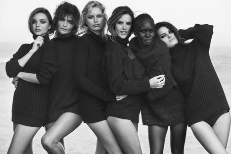 Miranda Kerr, Alessandra Ambrosio Among Models Featured in 2014 Pirelli Calendar 50th Anniversary Shoot - Sexy Balla | Daily News About Sexy Balla | Scoop.it