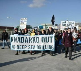 Protests against deep sea oil drilling - TopNews New Zealand | Fracking | Scoop.it