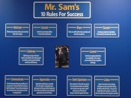 Sam Walton's 10 Rules For Success | Educational Nuggets | Scoop.it