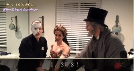 STAGE TUBE: PHANTOM OF THE OPERA Celebrates 25th Anniversary at Shiki ... - Broadway World | Phantom of the Opera | Scoop.it