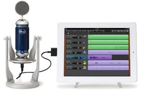 Blue Spark Digital condenser microphone for iPad revealed and detailed - SlashGear | portable recording studio equipment | Scoop.it