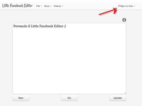Arriva il Little Facebook Editor per pubblicare e aggiornare contenuti | Visioni digitali & Formazione | Scoop.it