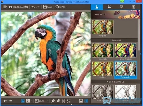InPixio Free Photo Editor : un nouveau logiciel gratuit de retouche photo | Time to Learn | Scoop.it