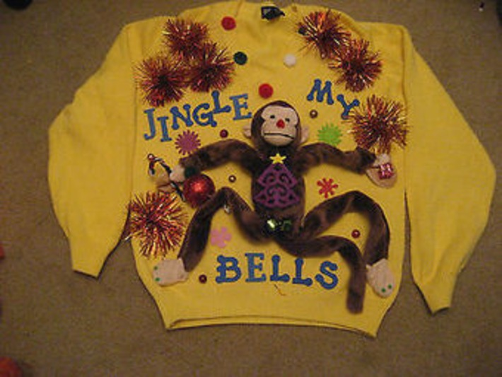 Your Guide To The Tackiest In Ugly Holiday Sweaters   Kitsch   Scoop.it