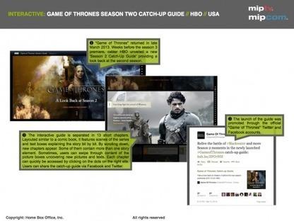 Digital promotion beyond the screen: Game of Thrones — VAST MEDIA white paper - MIPBlog | Digital Cinema - Transmedia | Scoop.it