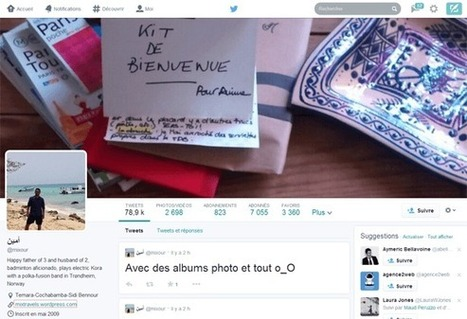 Design de Twitter : le réseau social s'inspire de Facebook et Google+ | marketing de réseaux et mlm | Scoop.it